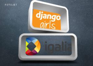 #35 IGALIA (Consultoría en software libre) – DJANGO GIRLS en PyConES2018 Málaga